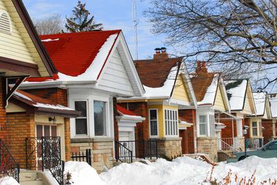 Winter houses