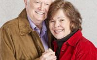 Embracing Senior Couple